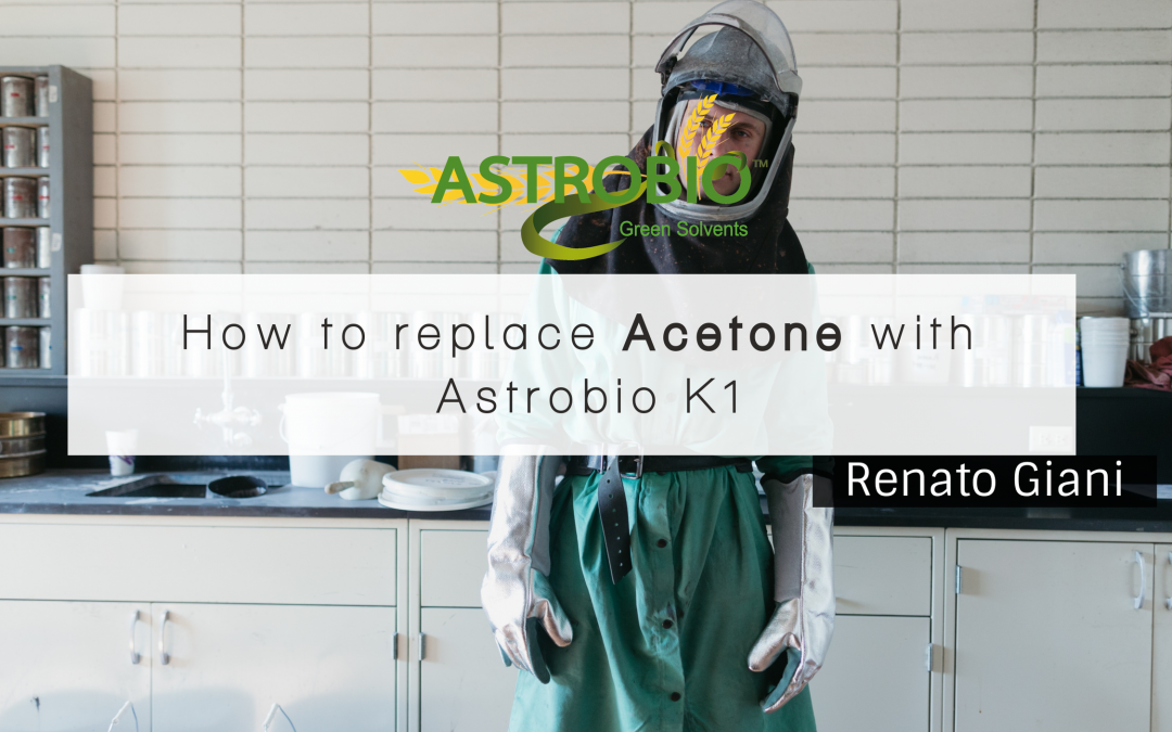 How To Replace Acetone With Astrobio K1
