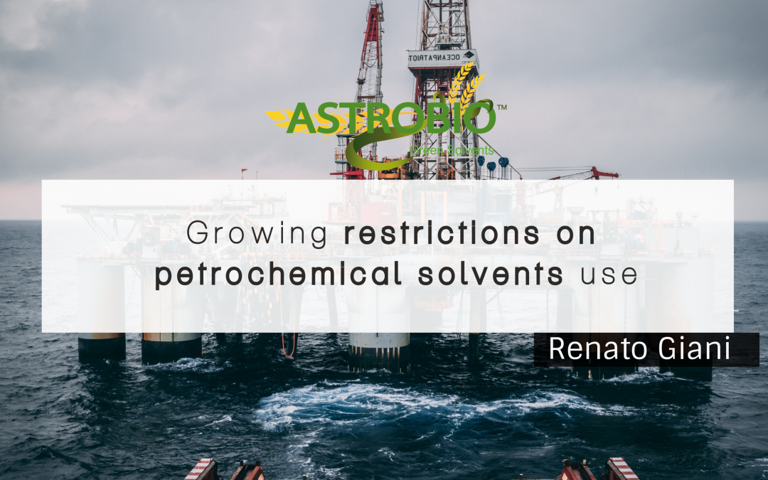 Growing Restrictions On Petrochemical Solvents Use